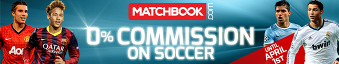 0% Commission on Matchbook